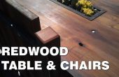 Redwood Table des chaises &
