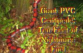 Géants mille-pattes PVC-10 pieds de cauchemar carburant