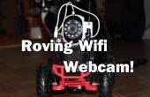 WiFi contrôlée itinérant Webcam !