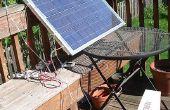Panneau solaire de hybride (thermique et photovoltaïque)