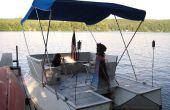 Incroyable bateau ponton de bouteille Soda