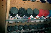 Rack de stockage chimique