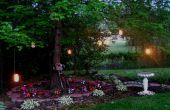 Lanternes de jardin bougie
