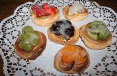Tartelettes aux fruits de meringue