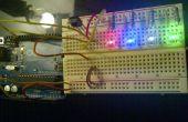 Capteur IR de l'Arduino et del