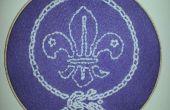 Fleur de Lys - projet de couture les Scouts