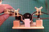 Servo moteur pompe péristaltique contrôlé par Arduino
