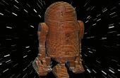 R2D2 - Laser Cut bois modèle