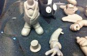 Occupent 1 % inspirée des figurines avec bras interchangeables, têtes et accessoires