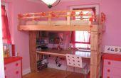 Comment construire lit surélevé un enfant