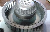 Réparation de ventilateur de condenseur sèche-linge - AEG, Electrolux etc.
