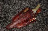 Gaine en cuir KP, dentelle coupeur fendeur, ciseau/broches et KP répartiteur en bois