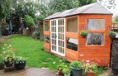 Comment construire un pavillon d'été sur mesure du bois récupéré et économisez des centaines !