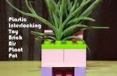 En plastique emboîtables jouet brique Air cache-pot (ou PITBAPP en abrégé)