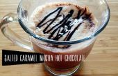 Salé recette de chocolat chaud au Caramel Mocha