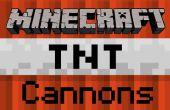Comment construire une flèche de Minecraft TNT Cannon - Pocket Edition