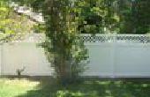 Mettre à jour votre espace extérieur avec clôture de vinyle