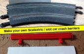 Scalextric / slot de barrières de sécurité pour le remplacement voiture