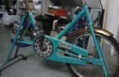 Restauration vélo stationnaire vintage
