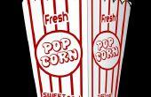 Comment faire une décoration de pop-corn surdimensionné