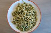Algues fraîches pâtes