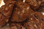 Fondant au chocolat double pli Cookies !