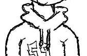 Comment dessiner un Hoodie Cartoon génial