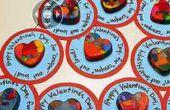 Cadeau de Saint Valentin en forme de coeur