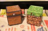Pots à biscuits Minecraft coffre-fort de lave-vaisselle