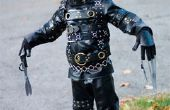 Costume d'Edward Scissorhands simple (mais efficace) pour gamins