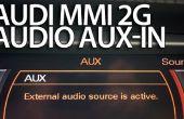 L'activation AUX stéréo dans Audi MMI 2G