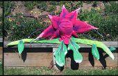 Audrey II fleurs et bourgeons de construction