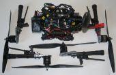 Convertir un quadcopter bras fixe pour un drone 'sac à dos' avec bras amovibles