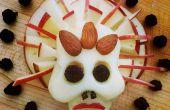 Crânes de fromage sans sucre pour Dias de Los Muertos (jour des morts)