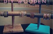 Bracelet en bois bricolage titulaires
