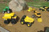 Conversion de camion RC Tonka avec vidage et 4WS Quad directeur