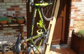 Vélo support de bois