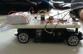 Laser pointeur contrôlé RC voiture