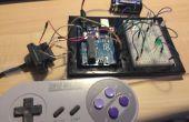 Fais un jeu SNES de Arduino contrôleur basé