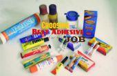 Choisir le meilleur adhésif pour le travail