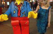 Costume de LEGO Zombie figurine