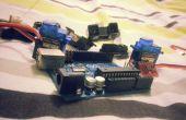 123D-débutants première PCB pour arduino SERVO/SENOR Conseil