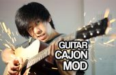 Guitare Cajon Mod (Snare interne)