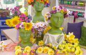 Couronnes florales tête--une Tradition de la Saint-Jean
