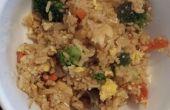 Accueil cuit riz frit