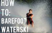 Comment faire pour ski nautique pieds nus