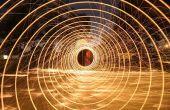 Comment : Photographie de la laine d'acier en spirale