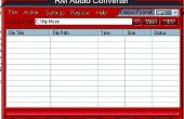 Comment faire pour convertir entre RM, MP3, WAV, WMA avec RM Audio Converter ?