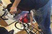 Chargeur solaire/Dynamo de bicyclette + feux arrière