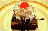 Sundae classique Fudgy Brownie au chocolat